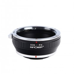 K&F concept adapter for Canon EOS lens to Fuji-X