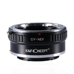 K&F Concept Adapter for Yashica/Contax lens to Sony-E