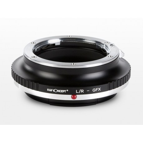K&F concept Adapterring Leica-R für Fuji GFX50S