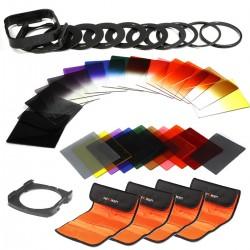 K&F Concept® 40 Stück Quadratisch Objektiv Filterset