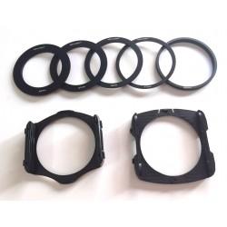 K&F Concept Filterhalter-Set (geeignet für Creative Filter System P-Serie) schwarz