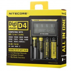 NITECORE D4 Digi charger For 18650 14500 18350 Li-ion & Ni-MH