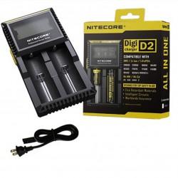 Cargador Inteligente para 2 baterías Universal D2