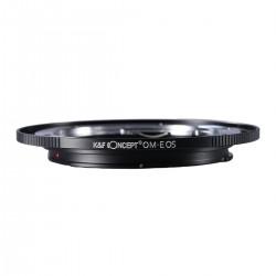 K&F Concept Adapterring  Olympus OM für Canon EOS (neu)