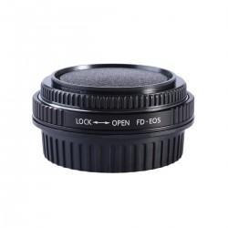 Adaptador K&F Concept Canon-FD para Canon EOS