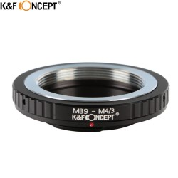 Adaptador K&F Concept  Leica rosca M39 para Olympus micro 4/3