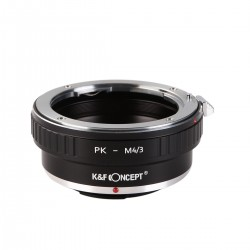 K&F Concept Adapter for Pentax-K lens to MFT mount with aperture control