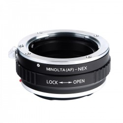 K&F Concept Adapter for Sony-A/Minolta-AF lens to Sony E-mount