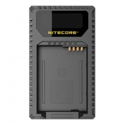 Nitecore ULQ USB Battery Charger for Leica BP-DC12
