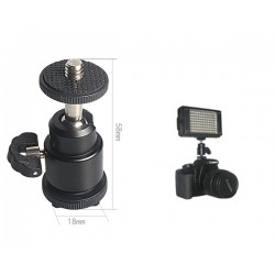 Hot Shoe Mini Tripod Ball Head (CM-BHSF)