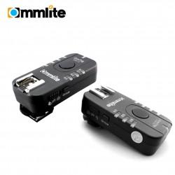 Commlite Comtrig G430C 150m Blitzauslöser mit Gruppensteuerung und Funkauslöser für Kameras - für Canon