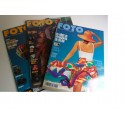 Lote 3 revistas FOTO año 2001 (nº 225, 226 y 227)