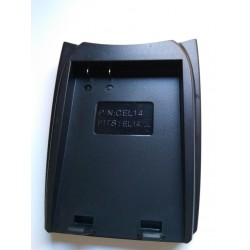 CEL14 Battery Adapter Plate for Professional Charger for Olympus BLM1
