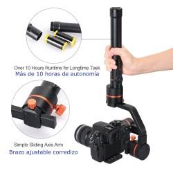 ViewFlex TARZAN M 3-Axis Gimbal Handheld Video Stabilizer