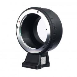 Adaptador Objetivos Olympus OM para Fuji-X (con soporte para trípode)