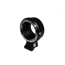 Objektiv Adapter Nikon AI-m4/3 (mit Stativhalterung)