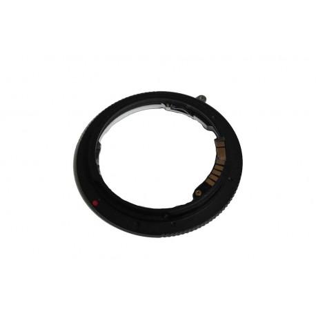 Adaptador con chip EMF de objetivos Leica R a Canon EOS