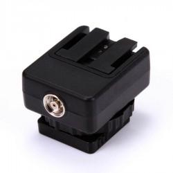 Blitzschuhadapter Hot-Shoe-Konverter für Sony Kameras
