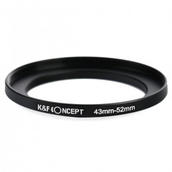 K&F Step-up 43mm-52mm