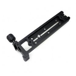 Fittest FVR-150 Kamera Slide Vertikale Schiene mit 90 Grad Schnellwechsel Schwalbenschwanz