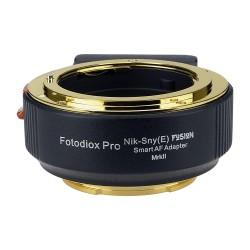 Adaptador Fotodiox Fusion Auto de Canon EOS para Sony-E
