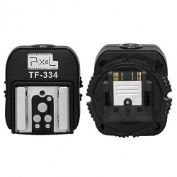 Adaptador zapata flash Sony Pixel TF-334 a Canon/Nikon