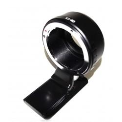 Adaptador Objetivos Olympus OM para Fuji-X (con zapata tipo Arca)