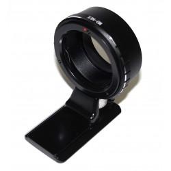 Adaptador objetivos Minolta-MD para Sony NEX (con zapata tipo Arca)