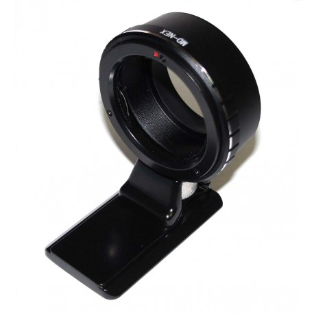 Adapter for Minolta-MD lens to Sony E-mount (with Arca plate)