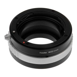 Fotodiox Adapterring für Nikon-G Objektive auf micro-4/3 Kamera
