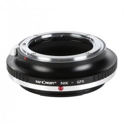 Adaptador K&F concept de objetivos Nikon para Fuji GFX50S