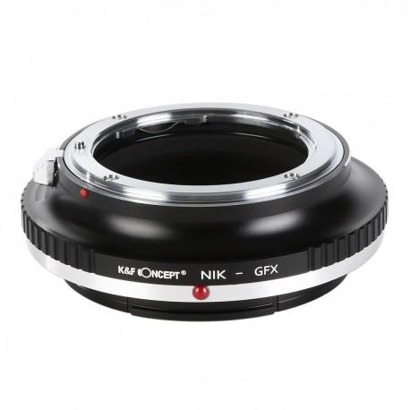 K&F concept Adapterring Nikon für Fuji GFX50S