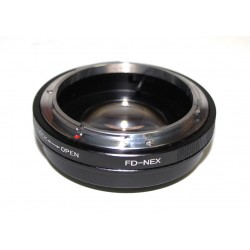 RJ Focal reducer Canon FD lens to Sony NEX