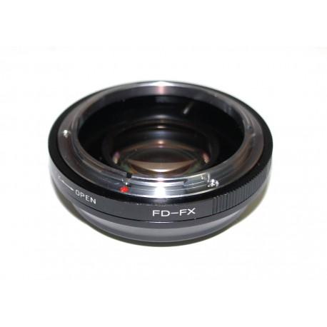 Reductor de Focal RJ de Canon FD para Fuji-X