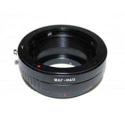 Adaptador Capa de Minolta AF para micro-4/3