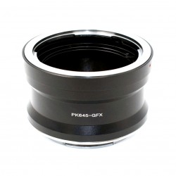 Adaptador RJ objetivos Pentax-645 para Fuji GFX50S