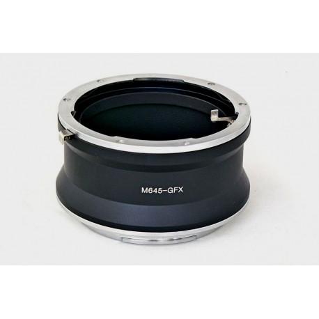 RJ Camera Adapter for Mamiya-645 lens to Fuji GFX 50S