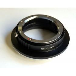 RJ Camera Adapterring Nikon-G für Fuji GFX Mount