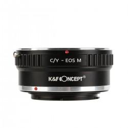 Contax/Yashica Objektive zu Canon EOS M Kamera Mount Adapter