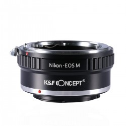 Nikon Lenses to Canon EOS M Camera Mount Adapter