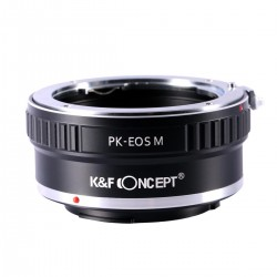 Pentax K Lenses to Canon EOS M Camera Mount Adapter