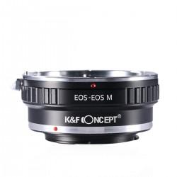 Adaptador K&F concept de objetivos Canon-EOS para Canon EOS-M