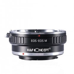 Canon-EOS Lenses to Canon EOS M Camera Mount Adapter