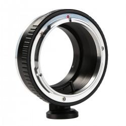 Adaptador K&F concept de objetivos Canon-FD para Canon EOS-M (con soporte para trípode)