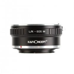 Adaptador K&F concept de objetivos Leica-R para Canon EOS-M