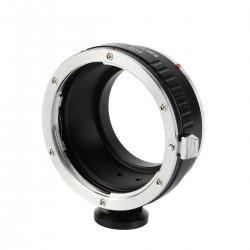 Adaptador K&F concept de objetivos Canon-EOS para Canon EOS-M (con soporte para trípode)