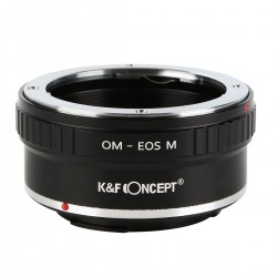 Olympus-OM Lenses to Canon EOS M Camera Mount Adapter