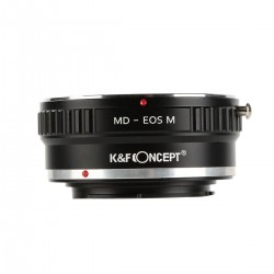 Adaptador K&F concept de objetivos Minolta-MD para Canon EOS-M