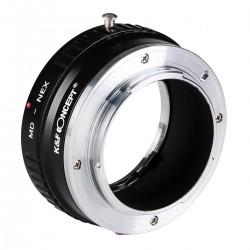 Minolta MD Objektive für Sony NEX E Kamera Mount Kupfer Adapter