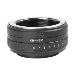 Tilt adapter for OM lens to Sony-E mount